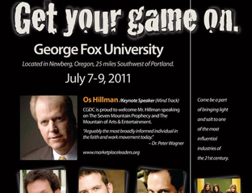 Poster: Christian Game Developers Conference
