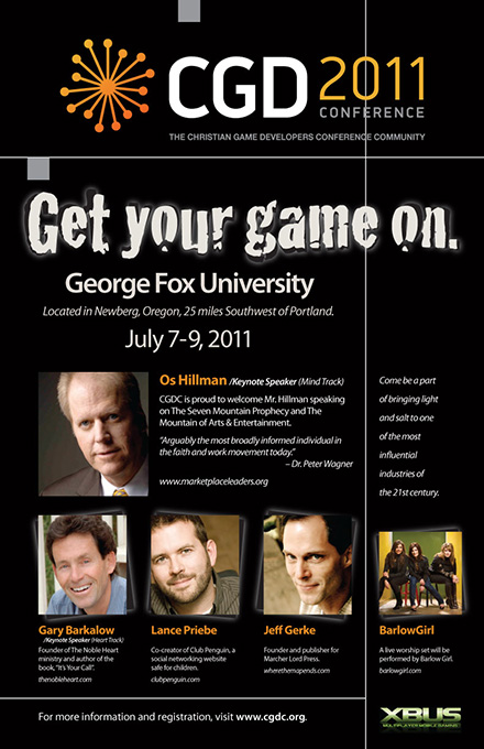 christian-game-developers-conference-2011-poster
