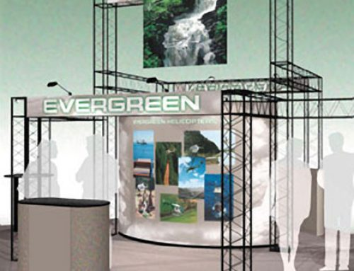 Trade Show Booth: Evergreen Helicopters