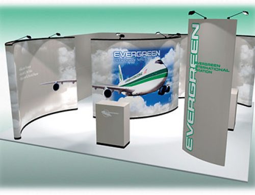 Trade Show Booth: Evergreen International Aviation
