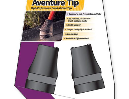 Packaging: Keen Mobility – Aventure Series Crutch Tip