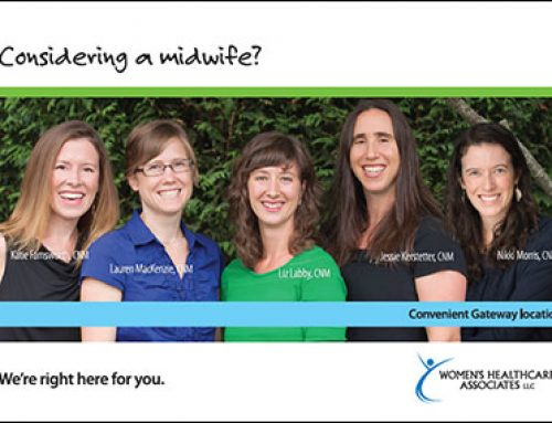 Postcard Mailer: Women's Healthcare Associates – Considering a Midwife?