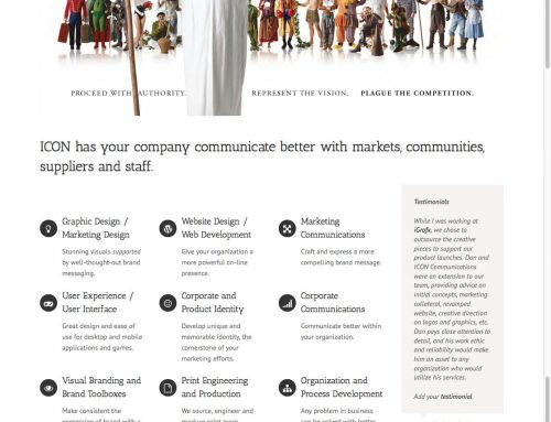 WordPress Website: ICON Communications