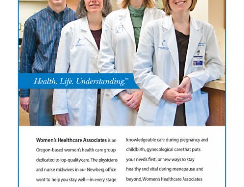 Advertisement: Women's Healthcare Associates – Newberg