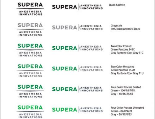 Brand Standards & Tools: Supera Anesthesia Innovations